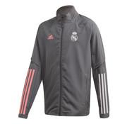 Adidas Real Madrid Pre Jacket Grey 20/21 Kids