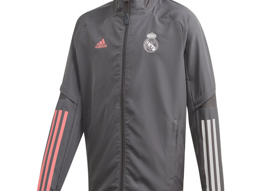 Adidas Real Madrid Pre Jacket Grey 20/21 Kids