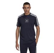 Adidas 3S Tape T-Shirt Navy
