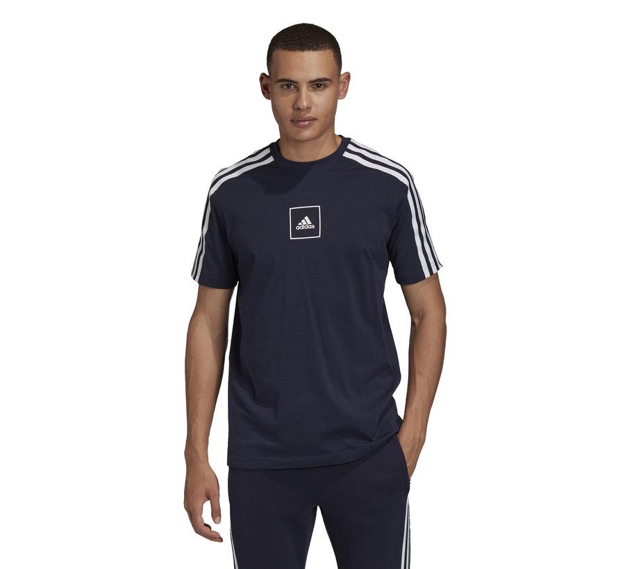 3S Tape T-Shirt Navy