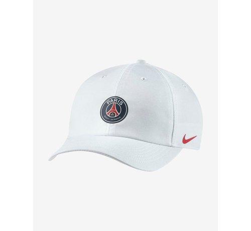 Nike PSG Dry H86 Cap White 20/21