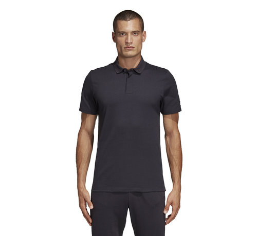 Adidas MH Plain Polo Black