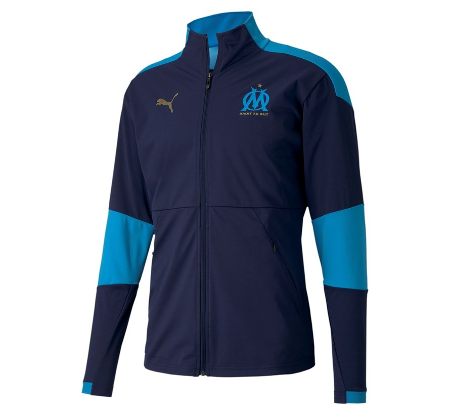 Marseille Sideline Jacket Navy 20/21