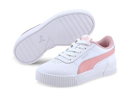 Puma Clarina Black/Pink Kids