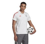Adidas Real Madrid Polo White 20/21