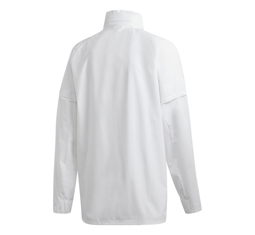 Real Madrid Allweather Jacket White 20/21