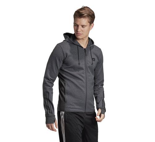 Adidas D2M Motion Fullzip Hoody Grey