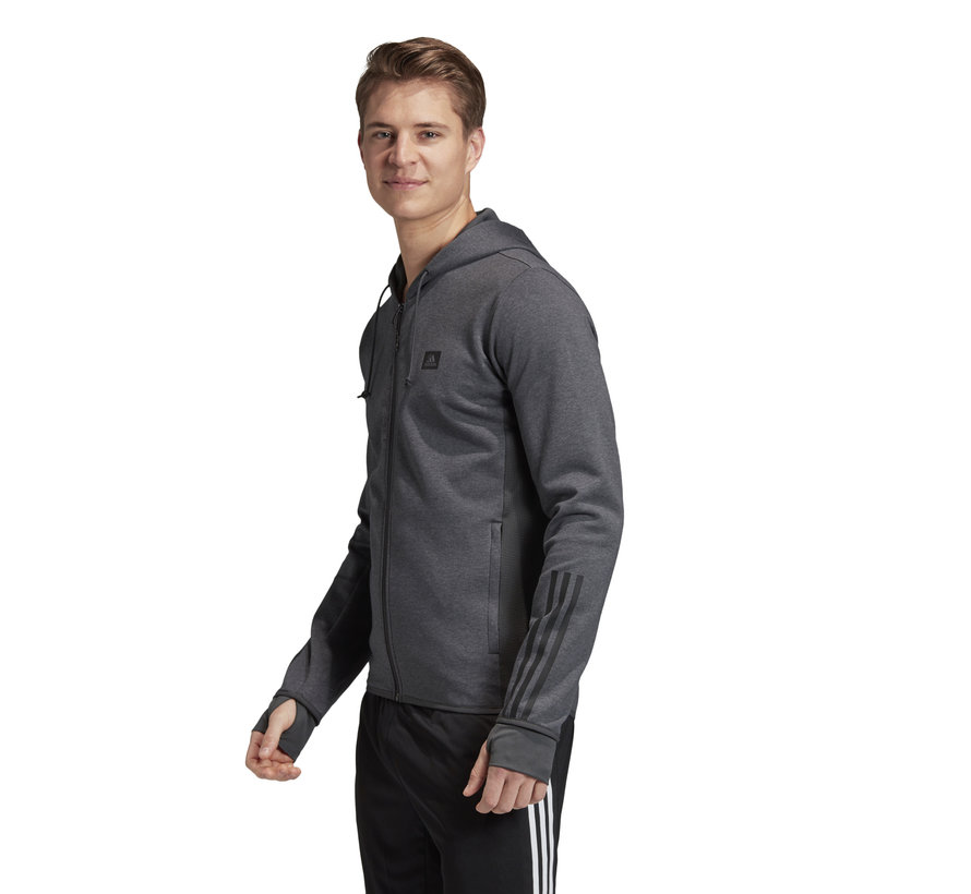 D2M Motion Fullzip Hoody Grey
