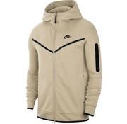 Nike Tech Fleece Fullzip Beige