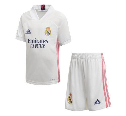 Adidas Real Home Kit Kids White 20/21