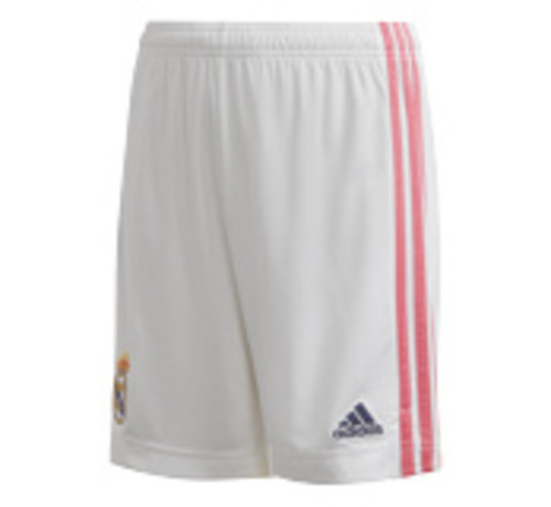 Adidas Real Madrid Home Short 20/21 Kids