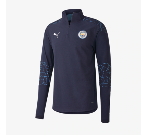 Puma Manchester City 1/4 ZipTop Peacoat 20/21