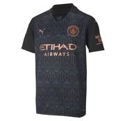 Puma Manchester City Away Shirt Jr Black 20/21