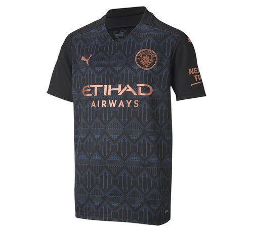 Puma Manchester City Away Shirt Black 20/21