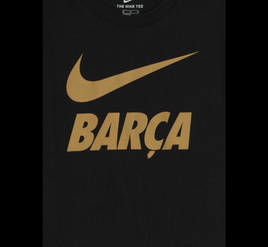 FC Barcelona Tee Ground Black