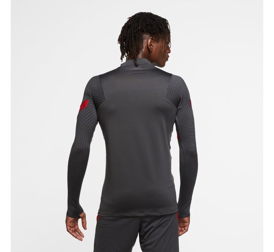 Liverpool Strike Drill Top Grey 20/21