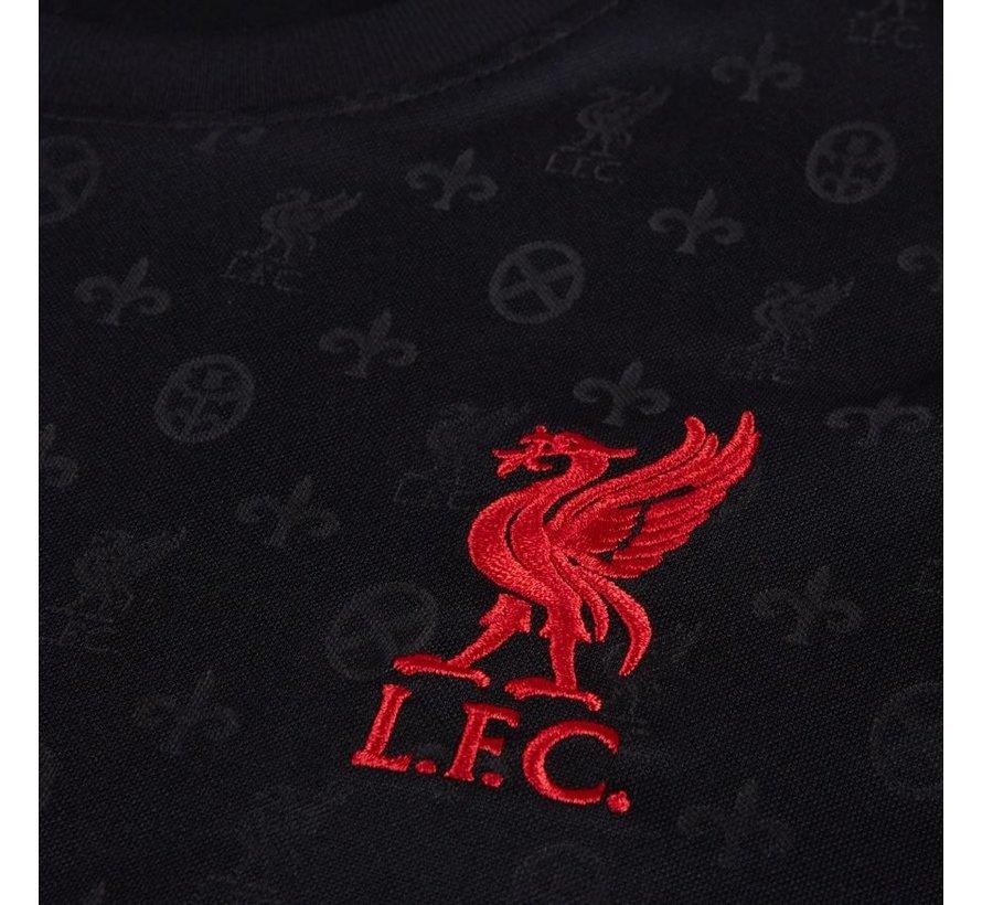 Liverpool Breathe Top Black 20/21