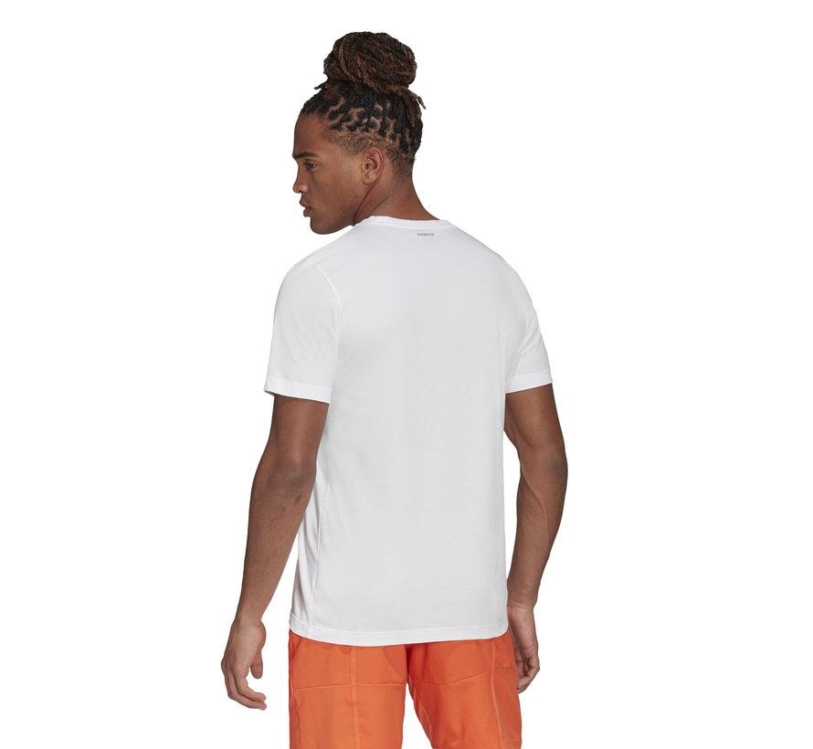 Categpry logo T-shirt White