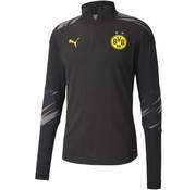 Puma Dortmund 1/4 Ziptop Black 20/21