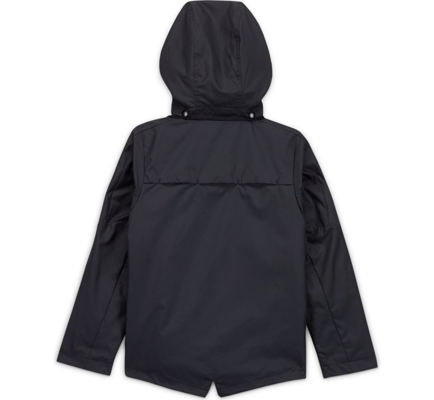 Academy18 Rain Jacket Black Kids