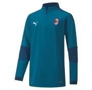 Puma AC Milan 1/4 Training Top Blue 20/21 Kids