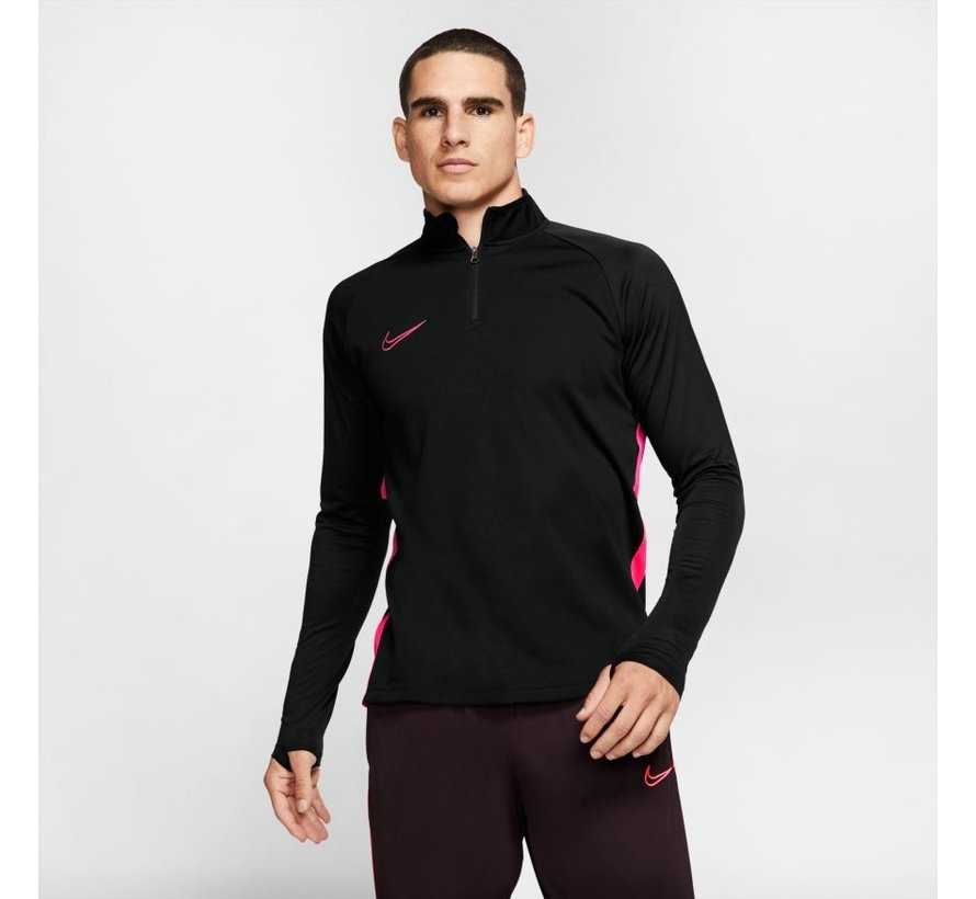 Academy Drill Top Black/Pink