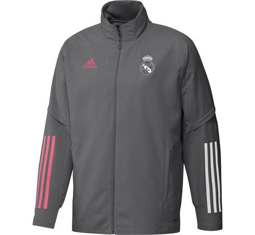Adidas Real Madrid Pre Jacket Grey 20/21
