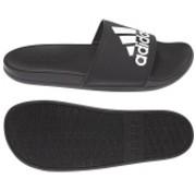 Adidas Adilette Confort Black/White Logo