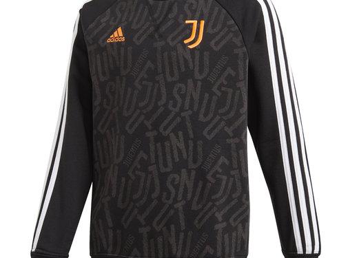 Adidas Juventus Crew Sweat Black Kids