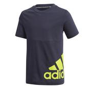 Adidas Big Logo Tee Navy/Solar
