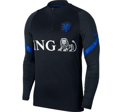 Nike Holland Strike Drill Top Black/Blue