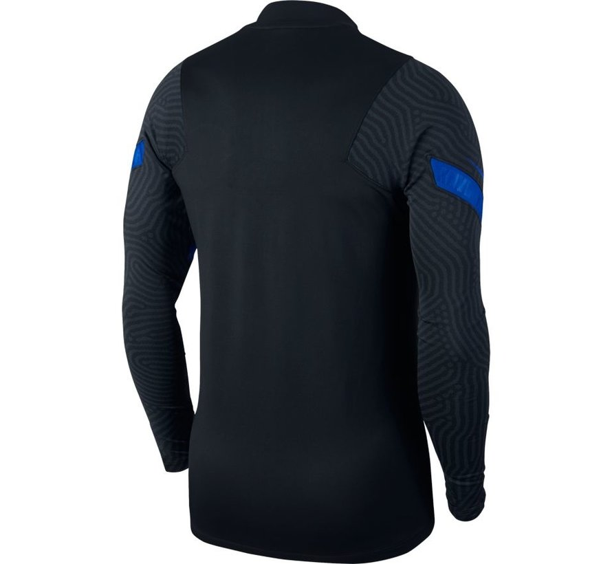 Holland Strike Drill Top Black/Blue