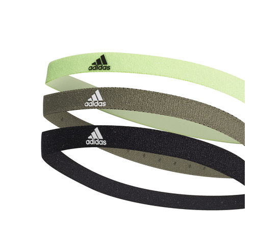 Adidas 3PP Hairband Black/Green/