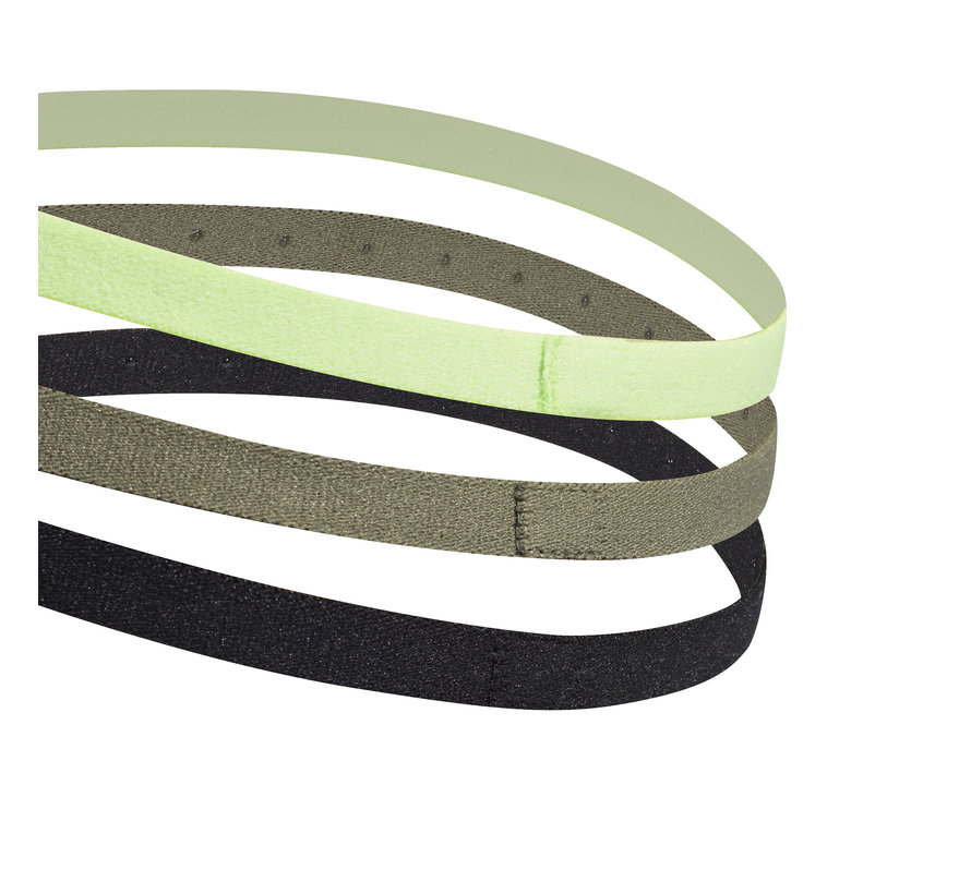 3PP Hairband Black/Green/