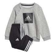 Adidas 3S Logo Jogging Block Grey
