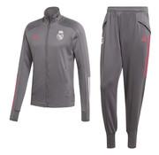 Adidas Real Madrid TK Suit Grey 20/21