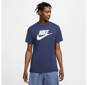 Nike Nsw Tee Icon Futura Navy-white