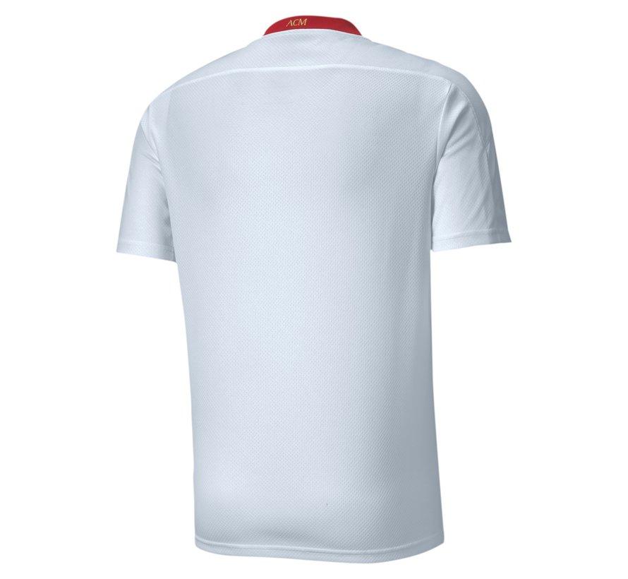 Ac Milan Away Shirt White-red 20/21