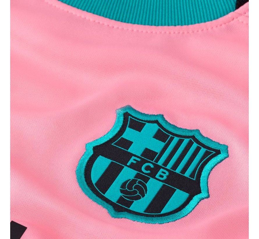 Barcelona Brt Stad Jsy 3R Jr Pink 20/21