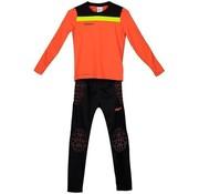 Uhlsport Offense 23 Goalkeeper Set Junior Orange
