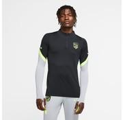 Nike Athletico Madrid Drill top Black-volt 20/21