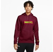 Nike Nike FC Essential Hoodie Dark Red