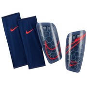 Nike Mercurial Lite Guard Navy/Crimson