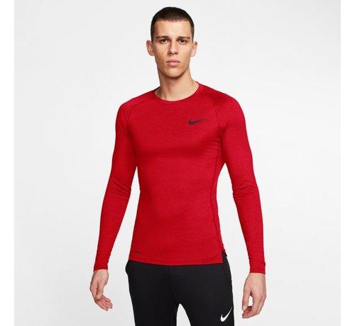 Nike Nike Pro Longsleeve Tight Red