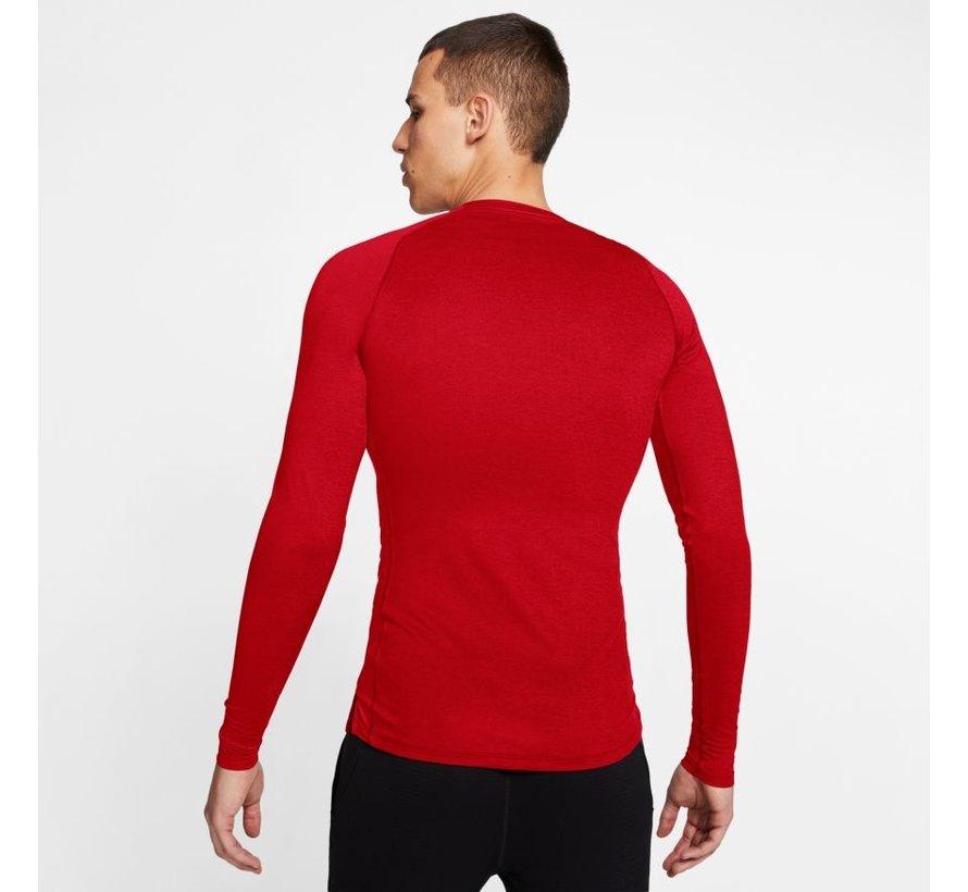 Nike Pro Longsleeve Tight Red