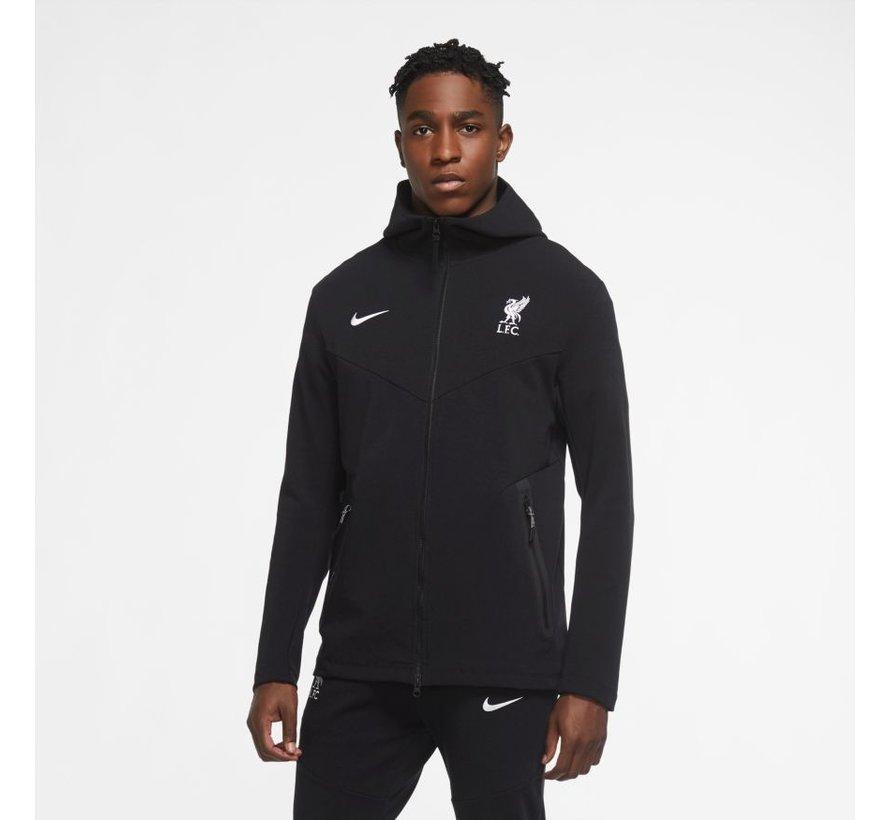 Liverpool  Tech Pack Hoody Black 20/21