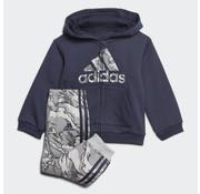 Adidas Logo Fz Hood Fl Encleg