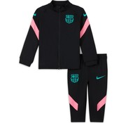 Nike FC Barcelona Tracksuit Black/Green Baby