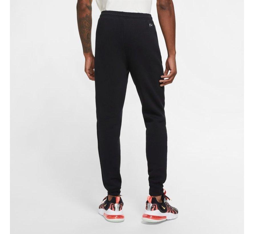 Liverpool Fleece Pant Black/White