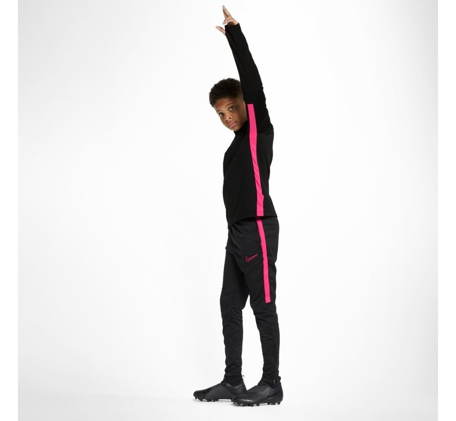 Academy Drill Top Black/Pink Kids